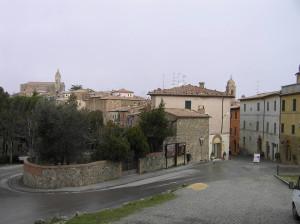 Montalcino, Siena. Author and Copyright Marco Ramerini.