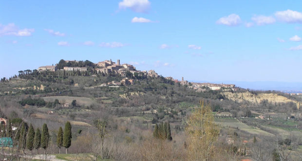 Montepulciano, Siena. Author and Copyright Marco Ramerini.