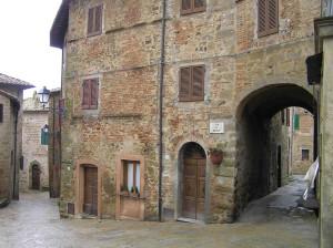 Monticchiello, Val d'Orcia, Siena. Author and Copyright Marco Ramerini,