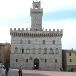 Palazzo Comunale, Montepulciano, Siena. Author and Copyright Marco Ramerini
