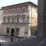 Palazzo Contucci, Montepulciano, Siena. Author and Copyright Marco Ramerini