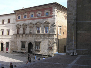 Palazzo Contucci, Montepulciano, Siena. Author and Copyright Marco Ramerini