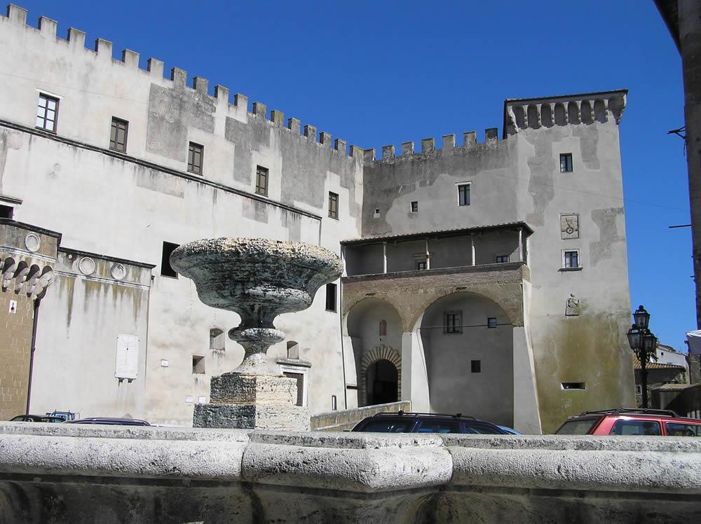 Palazzo Orsini, Pitigliano, Grosseto. Author and Copyright Marco Ramerini