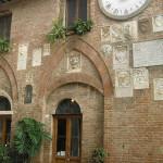 Palazzo Podestarile, Buonconvento, Sienne. Auteur et Copyright Marco Ramerini