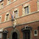 Palazzo Portigiani oggi sede del Comune, Colle Val d'Elsa, Siena. Author and Copyright Marco Ramerini