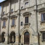 Palazzo Tarugi o dei Nobili (XVI secolo), Montepulciano, Siena. Author and Copyright Marco Ramerini