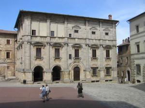 Palazzo Tarugi o dei Nobili (XVI secolo), Montepulciano, Siena. Author and Copyright Marco Ramerini..