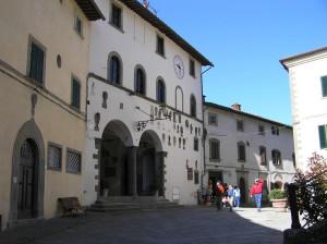 Palazzo del Podestà, Radda in Chianti, Sienne. Auteur et Copyright Marco Ramerini