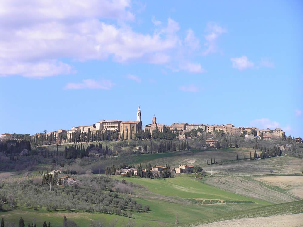 Pienza, Val d'Orcia, Sienne. Auteur et Copyright Marco Ramerini