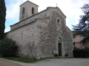 Pieve di San Giusto in Salcio, Gaiole in Chianti, Sienne. Auteur et Copyright Marco Ramerini