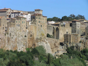 Pitigliano, Grosseto. Author and Copyright Marco Ramerini.