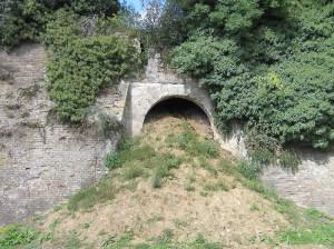 Porta di Calcinaia, Fortezza di Poggio Imperiale, Poggibonsi, Siena. Author and Copyright Marco Ramerini