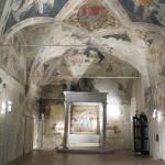 Sagrestia Vecchia, Santa Maria della Scala, Sienne. Auteur Combusken. Licence Creative Commons-Share Alike
