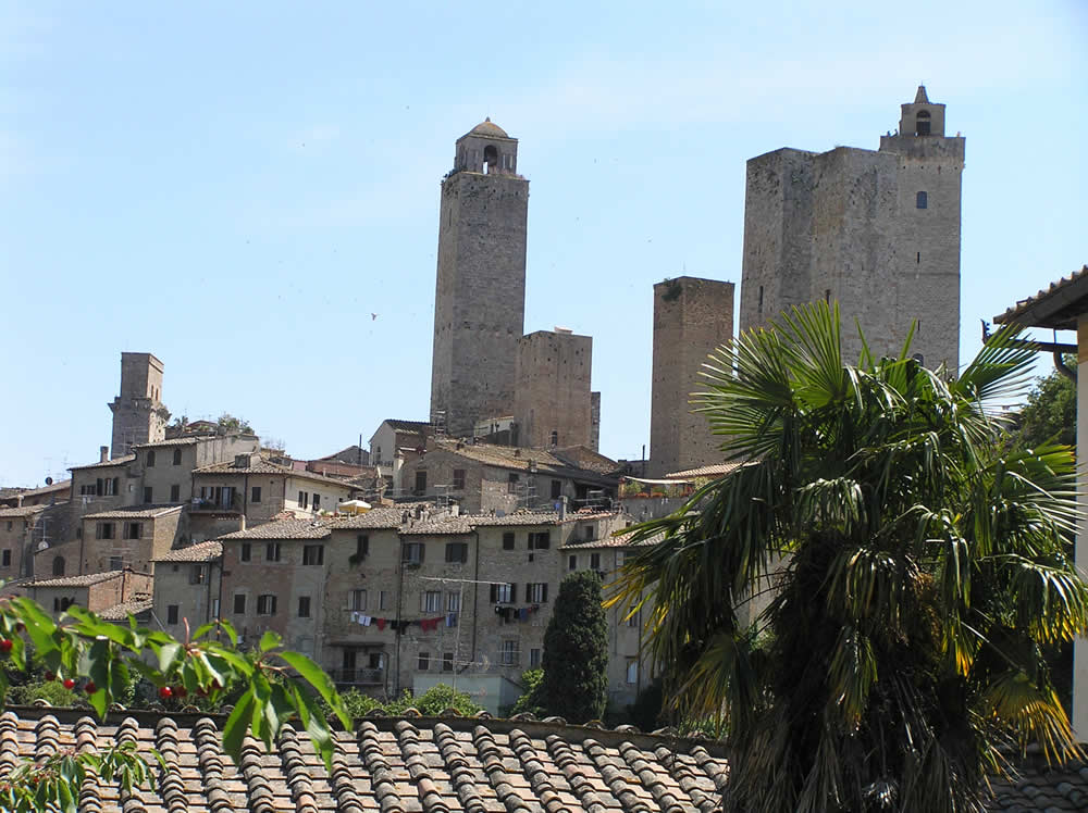 San Gimignano, Siena. Author and Copyright Marco Ramerini,
