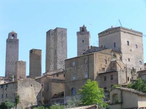San Gimignano, Siena. Author and Copyright Marco Ramerini