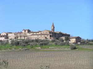 San Gusmè, Castelnuovo Beradenga, Siena. Author and Copyright Marco Ramerini
