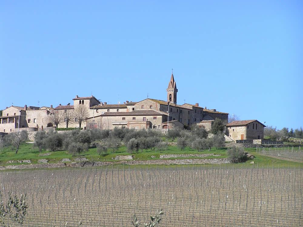 San Gusmè, Castelnuovo Beradenga, Sienne. Auteur et Copyright Marco Ramerini