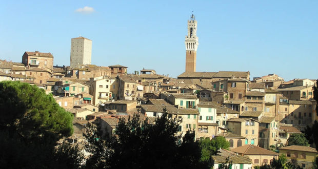 Siena. Author and Copyright Marco Ramerini