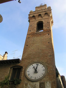 Torre Civica, Buonconvento, Siena. Author and Copyright Marco Ramerini