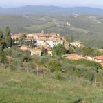 Vagliagli, Castelnuovo Beradenga, Sienne. Auteur et Copyright Marco Ramerini