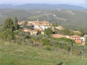 Vagliagli, Castelnuovo Beradenga, Siena. Author and Copyright Marco Ramerini