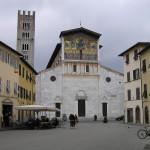 Basilica di San Frediano, Lucca. Author and Copyright Marco Ramerini