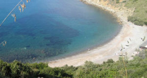 Cala Moresca, Salivoli, Piombino, Livorno. Author and Copyright Marco Ramerini