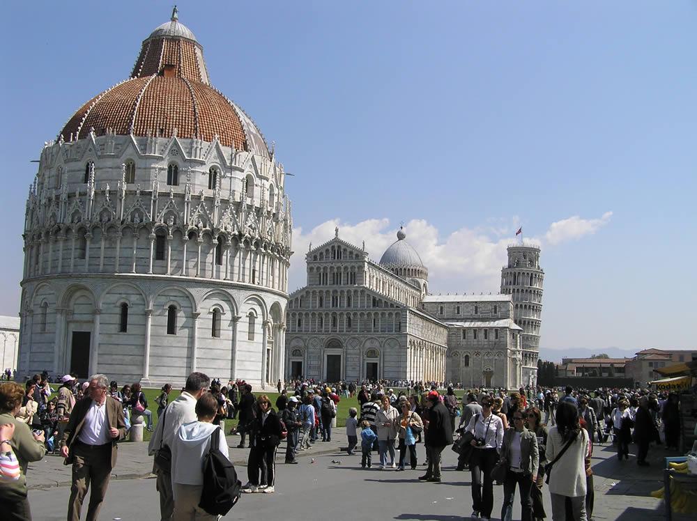 Campo dei Miracoli, Pisa. Author and Copyright Marco Ramerini