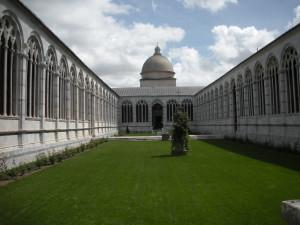 Camposanto, Pisa. Author and Copyright Nello e Nadia Lubrina