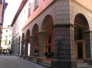 Castelnuovo Garfagnana, Lucca. Author and Copyright Marco Ramerini