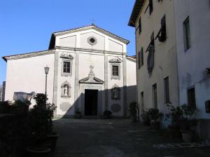 Chiesa del Santissimo Crocifisso, Barga, Lucca. Author and Copyright Marco Ramerini