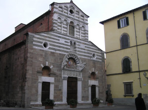 Chiesa di San Giusto, Lucca. Author and Copyright Marco Ramerini