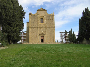 Chiesa di San Giusto, Volterra. Author and Copyright Marco Ramerini