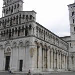 Chiesa di San Michele in Foro, Lucca. Author and Copyright Marco Ramerini