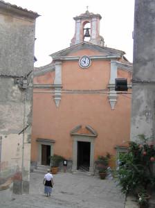Église de Santa Caterina, Marciana, Île d'Elbe, Livourne. Auteur et Copyright Marco Ramerini