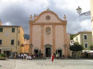 Chiesa di Santa Chiara, Marciana Marina, Isola d'Elba, Livorno. Author and Copyright Marco Ramerini