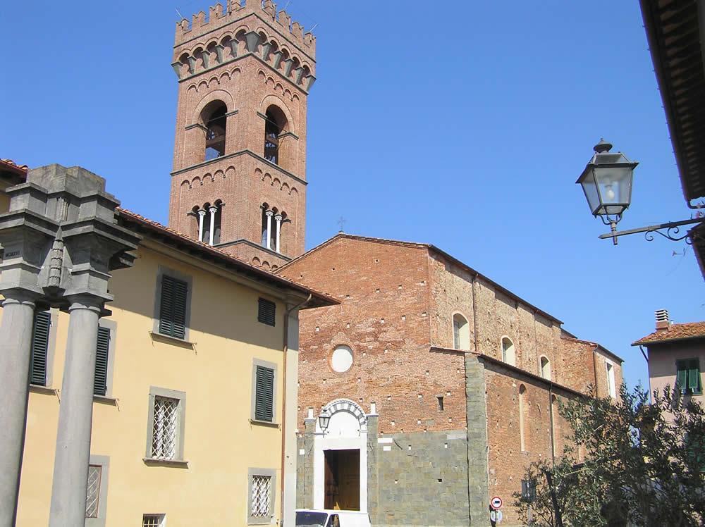 Collegiata di S. Andrea, Montecarlo, Lucca. Author and Copyright Marco Ramerini