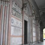 Dettaglio del portico del Duomo, Lucca. Author and Copyright Marco Ramerini