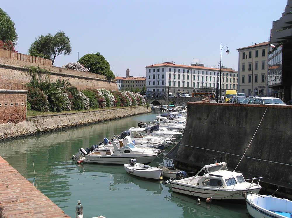 Fosso Reale, Livorno. Author and Copyright Marco Ramerini