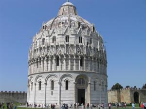 Il Battistero, Pisa.. Author and Copyright Marco Ramerini
