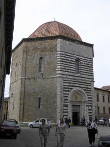 Il Battistero, Volterra. Author and Copyright Marco Ramerini