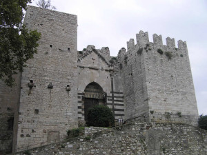 Il Castello dell'Imperatore, Prato. Author and Copyright Marco Ramerini