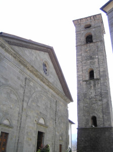 Il Duomo, Castelnuovo Garfagnana, Lucca. Author and Copyright Marco Ramerini
