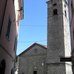 Il Duomo, Castelnuovo Garfagnana, Lucca. Author and Copyright Marco Ramerini.