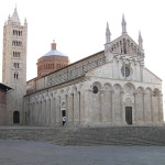 Il Duomo di Massa Marittima, Grosseto. Author and Copyright Marco Ramerini