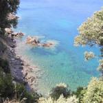Insenatura nel golfo di Procchio, Marciana, Isola d'Elba, Livorno. Author and Copyright Marco Ramerini