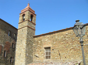 La Chiesa di San Donato, Scarlino, Grosseto. Author and Copyright Marco Ramerini