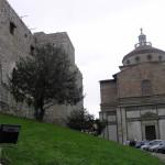 La Chiesa di Santa Maria delle Carceri e il Castello dell'Imperatore, Prato. Author and Copyright Marco Ramerini