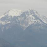 La Pania della Croce nelle Alpi Apuane vista da Coreglia Antelminelli, Lucca. Author and Copyright Marco Ramerini