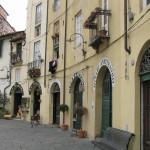 La Piazza dell'Anfiteatro, Lucca,. Author and Copyright Marco Ramerini